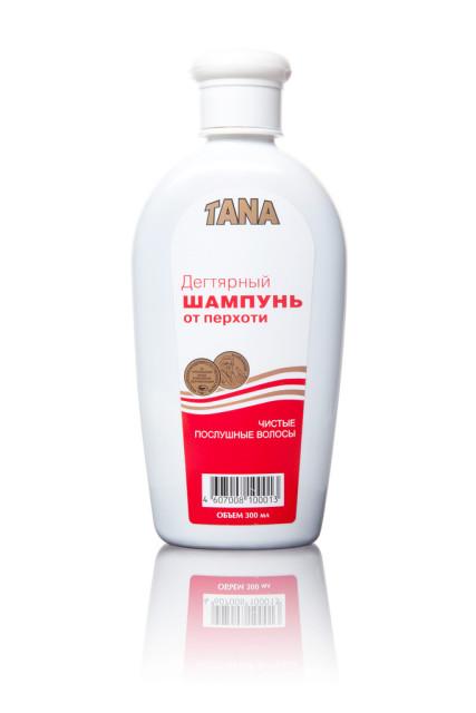 Тана шампунь дегтярный 300мл купить в Москве по цене от 171 рублей