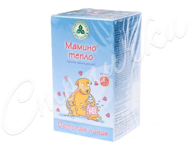 Мамино тепло чай детский 1,5г №20 купить в Москве по цене от 129 рублей