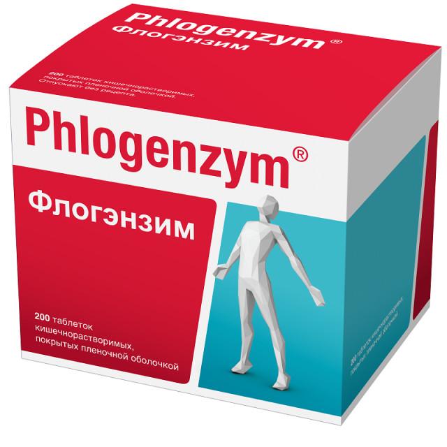Флогэнзим таблетки п.о №200 купить в Москве по цене от 4200 рублей
