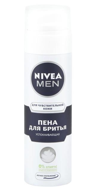 Нивея Мен пена для бритья д/чувств.кожи успок. 200мл 81720 купить в Москве по цене от 226 рублей