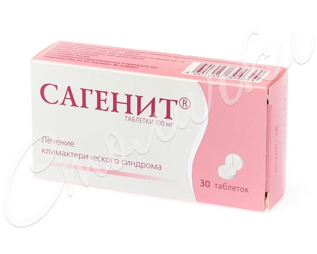 Сагенит таблетки 100мг №30 купить в Москве по цене от 0 рублей