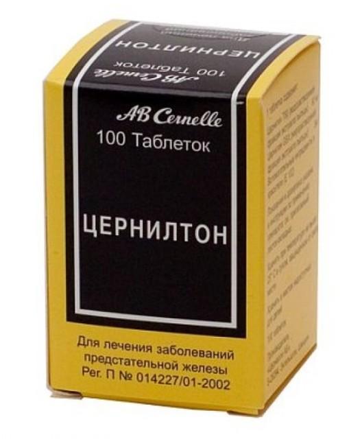 Цернилтон таблетки №100 купить в Москве по цене от 0 рублей