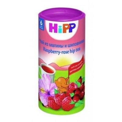 Хипп чай детский Малина/шиповник с 6 мес. 200г купить в Москве по цене от 402 рублей