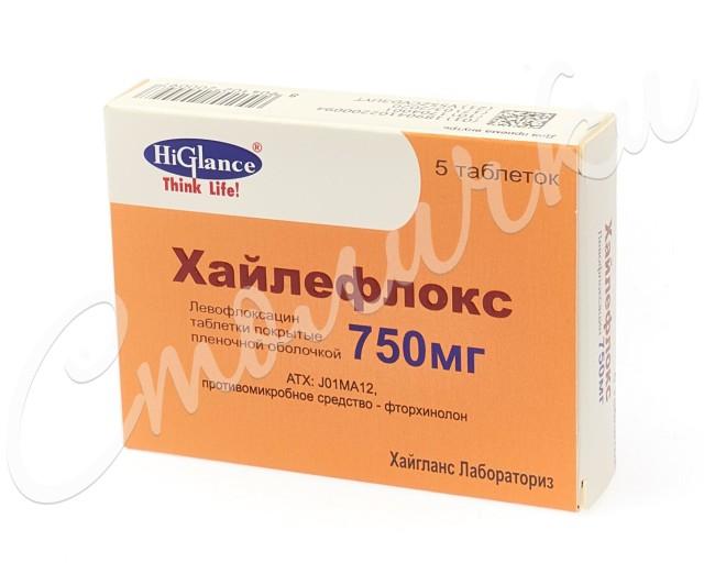 Хайлефлокс таблетки п.о 750мг №5 купить в Москве по цене от 678.5 рублей