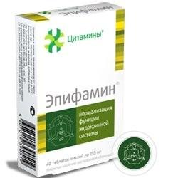 Эпифамин таблетки №40 купить в Москве по цене от 1080 рублей
