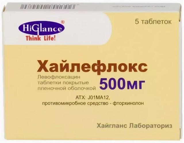 Хайлефлокс таблетки п.о 500мг №5 купить в Москве по цене от 426 рублей