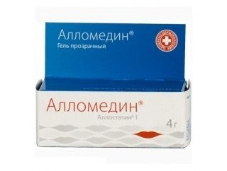 Алломедин гель с п/вирусным действием 4г купить в Москве по цене от 224 рублей