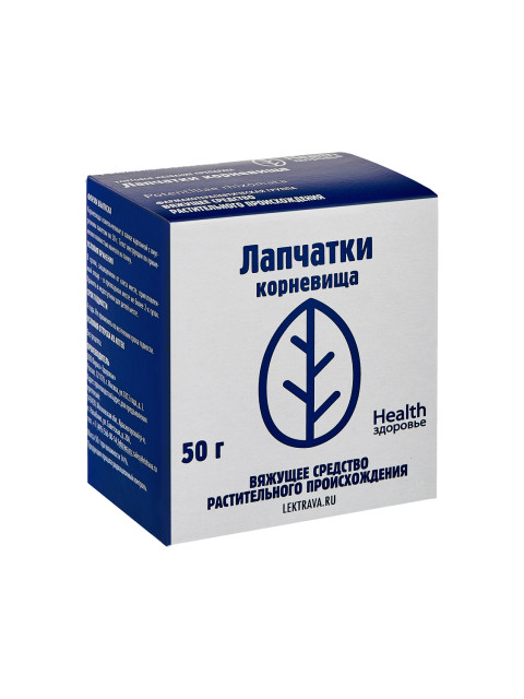 Лапчатки корневища Здоровье 50г купить в Москве по цене от 106 рублей