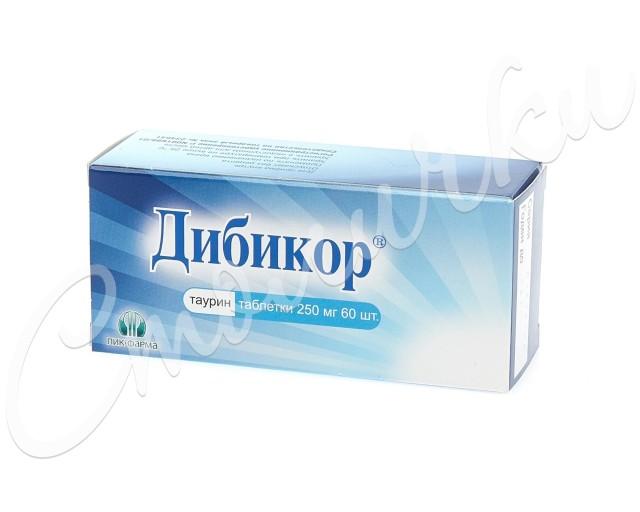 Дибикор таблетки 250мг №60 купить в Москве по цене от 262 рублей