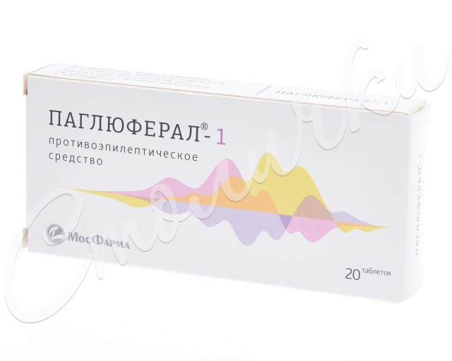 Паглюферал 1 таблетки №20 купить в Москве по цене от 79 рублей