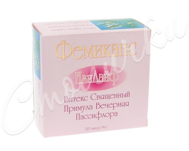Фемикапс Изи Лайф капсулы 784мг №120 купить в Москве по цене от 1710 рублей