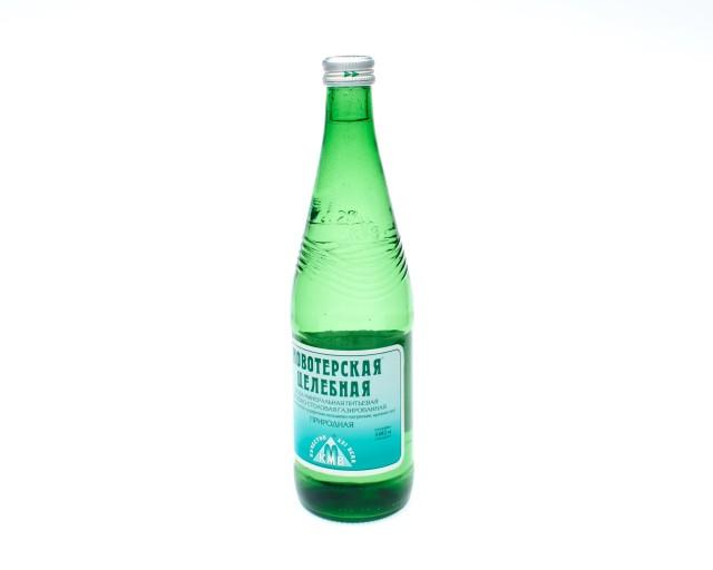 Вода минеральная Новотерская целебная Элита 0,5л стекло купить в Москве по цене от 41 рублей