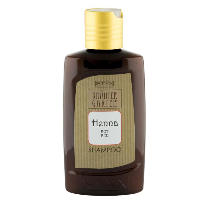 Стикс шампунь Хенна красный от выпад. волос 200мл (14514) купить в Москве по цене от 1170 рублей