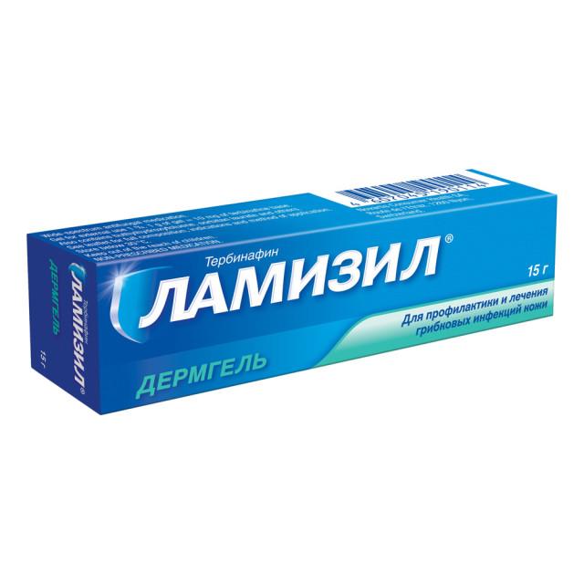 Ламизил Дермгель гель 1% 15г купить в Москве по цене от 559 рублей