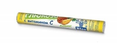 Блок Глюкоза Вит.С/Ананас таблетки №18 купить в Москве по цене от 94 рублей