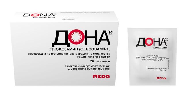 Дона порошок для приготовления раствора внутрь 1500мг №20 купить в Москве по цене от 1360 рублей