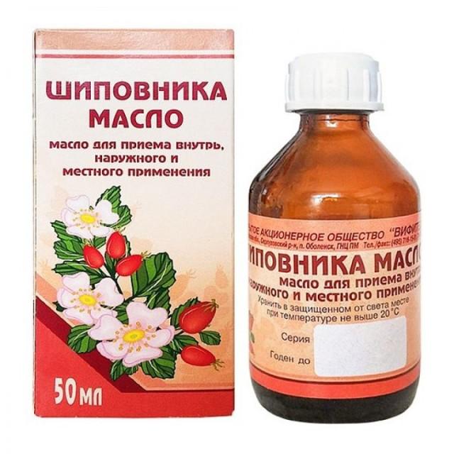 Шиповник масло 50мл Вифитех купить в Москве по цене от 169 рублей