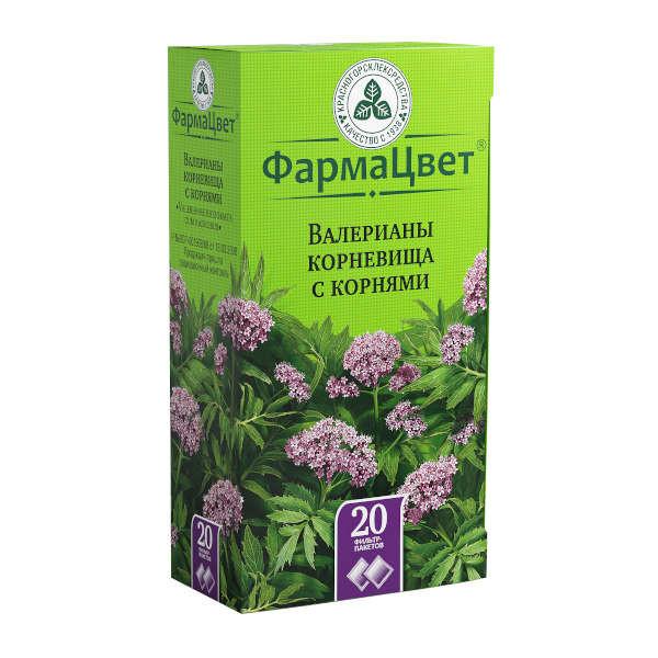 Валериана корневища с корнями 1,5г №20 купить в Москве по цене от 80 рублей