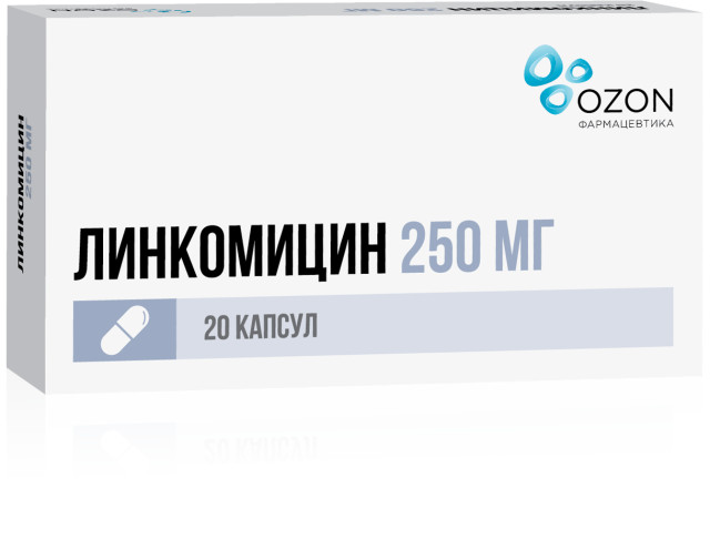 Линкомицин капсулы 250мг №20 купить в Москве по цене от 141 рублей