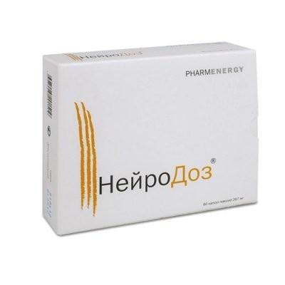 Нейродоз капсулы №60 купить в Москве по цене от 1670 рублей