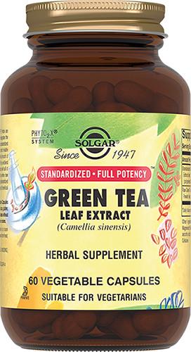 Солгар Экстракт листьев зеленого чая капсулы №60 купить в Москве по цене от 1240 рублей