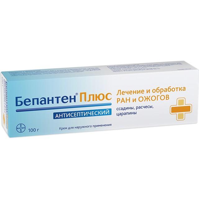 Бепантен плюс крем 100г купить в Москве по цене от 828 рублей