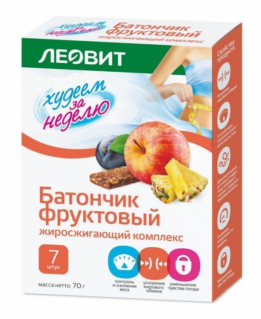 Худеем за неделю батончик Жиросжиг. комплекс №7 купить в Москве по цене от 135 рублей
