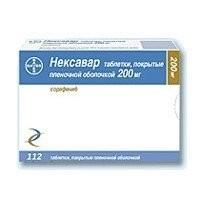 Нексавар таблетки п.о 200мг №112 купить в Москве по цене от 0 рублей