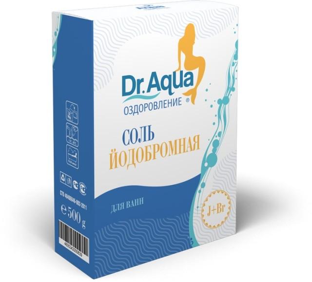 Др. Аква соль для ванн йодобромн. 500г купить в Москве по цене от 32 рублей
