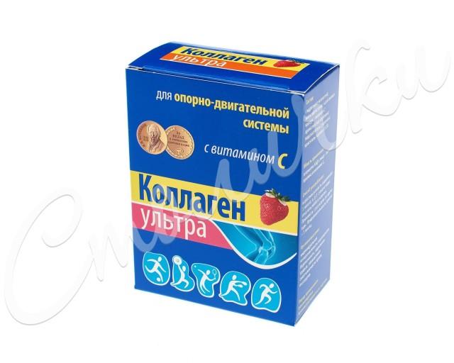Коллаген ультра порошок 8г №7 (клубника) купить в Москве по цене от 281 рублей