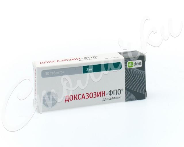Доксазозин-ФПО таблетки 2мг №30 купить в Москве по цене от 149.5 рублей