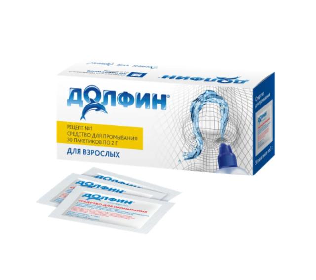 Долфин ср-во пак. 2г №30 для взрослых купить в Москве по цене от 312 рублей