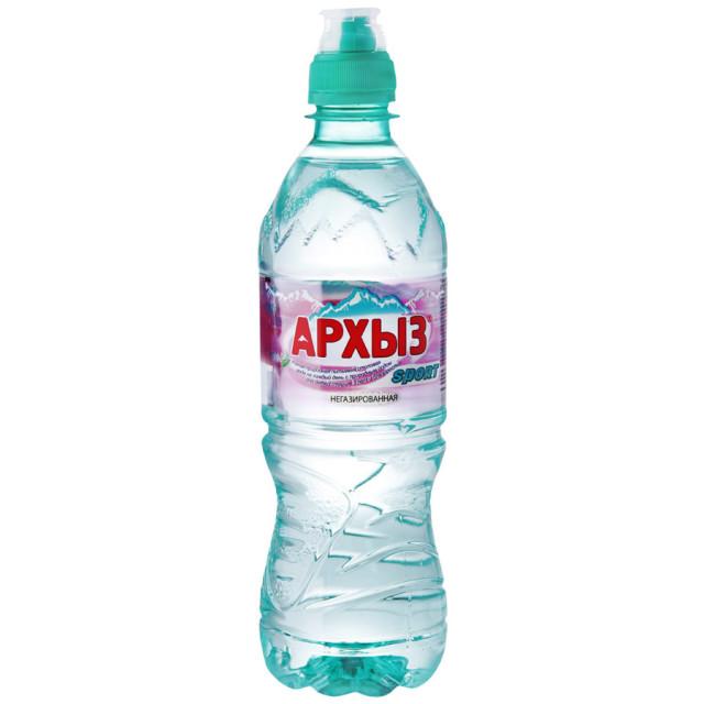 Вода минеральная Архыз Вита 0,5л (б/газ/спорт) купить в Москве по цене от 45 рублей