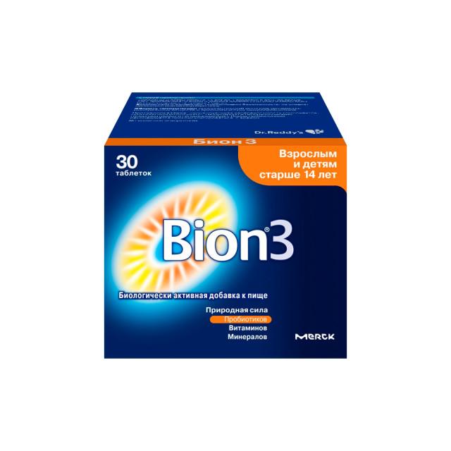 Бион 3 таблетки №30 купить в Москве по цене от 896 рублей