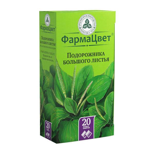 Подорожник большой листья 1,5г №20 купить в Москве по цене от 75 рублей