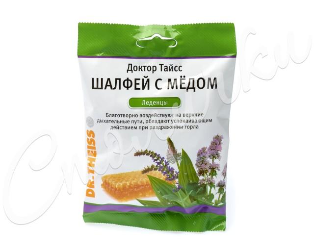 Доктор Тайсс леденцы Шалфей/мед 50г купить в Москве по цене от 179 рублей