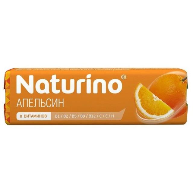 Натурино паст. витам. натур. сок Апельсин 36,4г купить в Москве по цене от 64 рублей