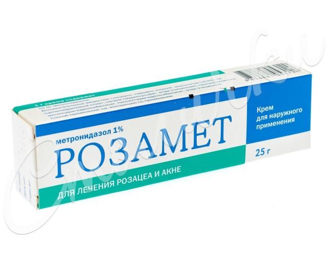 Розамет крем 1% 25г купить в Москве по цене от 229 рублей