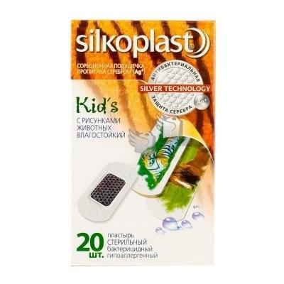 Силкопласт пластырь бактерицидный Кидс №20 купить в Москве по цене от 118 рублей