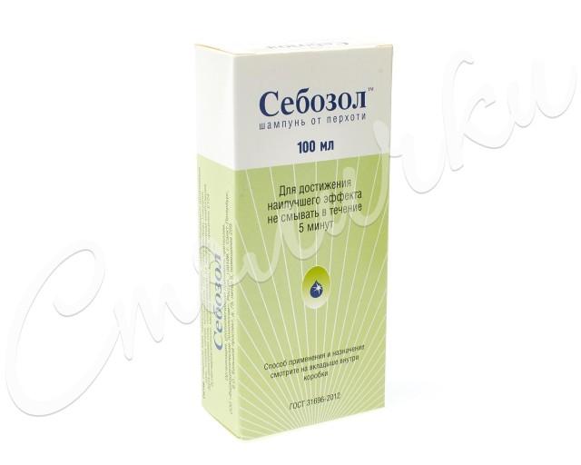 Себозол шампунь п/перх. 100мл купить в Москве по цене от 348 рублей