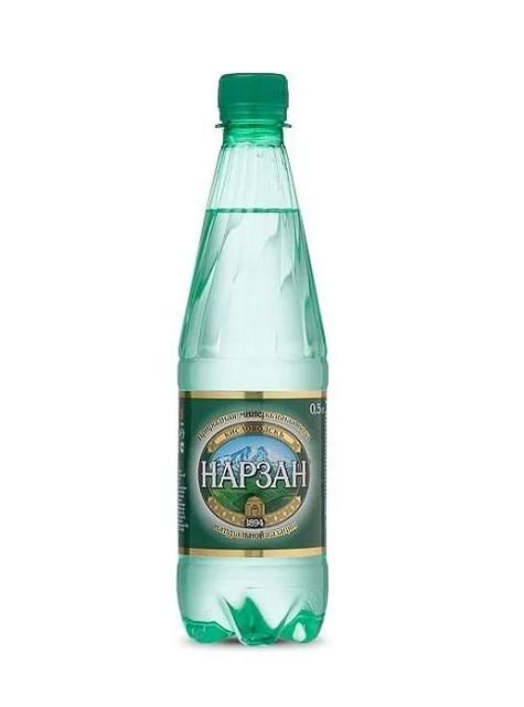 Вода минеральная Нарзан Золотой 0,5л ПЭТ купить в Москве по цене от 45 рублей