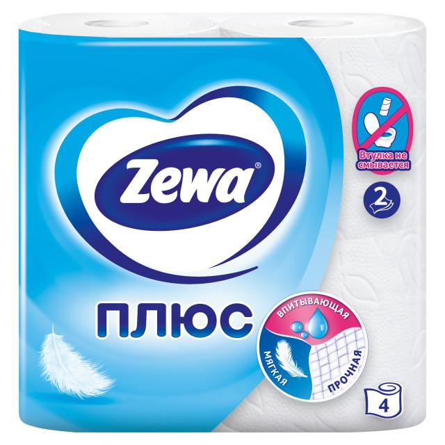 Зева Плюс бумага туалетн. белая №4 купить в Москве по цене от 0 рублей