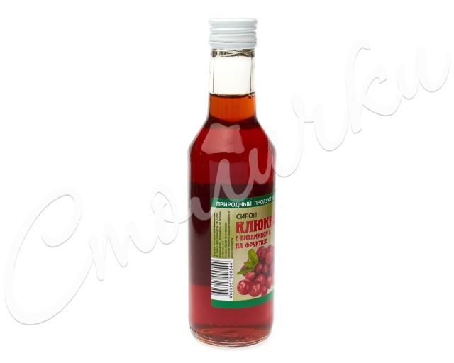 Сироп Клюква на фруктозе 250мл купить в Москве по цене от 111 рублей