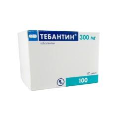 Тебантин капсулы 300мг №100