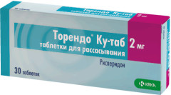 Торендо Ку таблетки для рассасывания 2мг №30