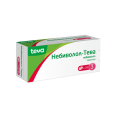 Небиволол таблетки 5мг №28 купить в Москве по цене от 436 рублей