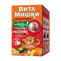 ВитаМишки Иммуно+ пастилки жевательные №60