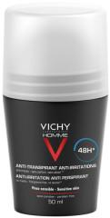 Виши Ом дезодорант-ролик для чувствительной кожи 48часов 50мл купить в Москве по цене от 1050 рублей