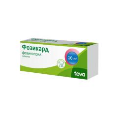 Фозикард таблетки 10мг №28 купить в Москве по цене от 318 рублей