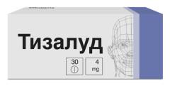 Тизалуд таблетки 4мг №30